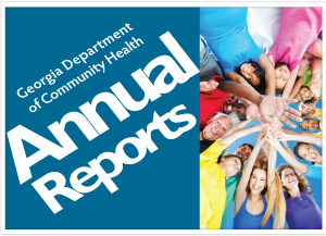 View activities, accomplishments and program statistics for the Georgia Department of Community Health for the previous fiscal year.