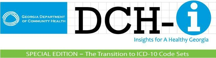 DCH-i Special Edition masthead for ICD-10